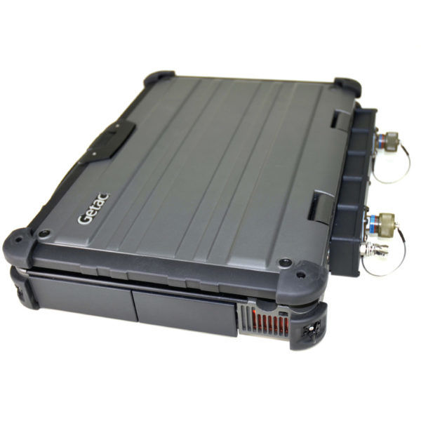 Getac X500 Laptop with Battery and HDD bays secured
