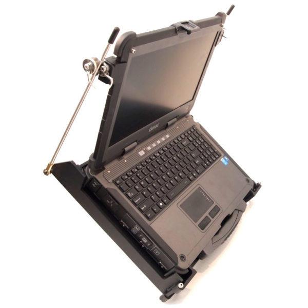 X500 Laptop MIL-S-901D Mount Tilted